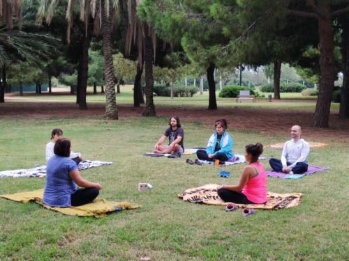 Yoga en el prat